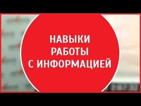 Работа с информацией | Николай Ягодкин