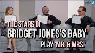 The Hook - Renée Zellweger, Colin Firth & Patrick Dempsey Play 'Mr. & Mrs.'