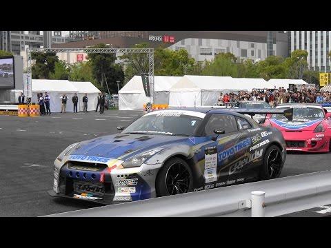 【4K】モータースポーツジャパン 2016 フェスティバル イン お台場  『DRIFT デモラン,SUPER GT ほか』 2016.4.16 @お台場