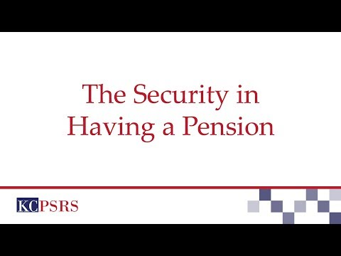 Security in Having a Pension - Bakari Ukuu, Trustee