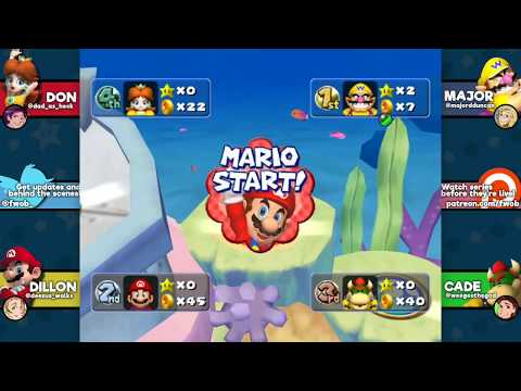 """Mario Party 5: """"Press F for Major"""" - EPISODE 1 - Friends Without Benefits"""