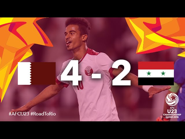 Video: U23 Qatar vs U23 Syria