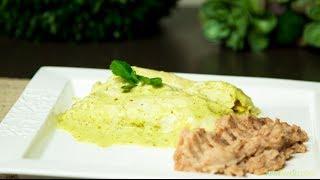 Enchiladas Suizas Con Pollo