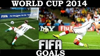 Best Goals of World Cup 2014 Recreated in FIFA (PS4)