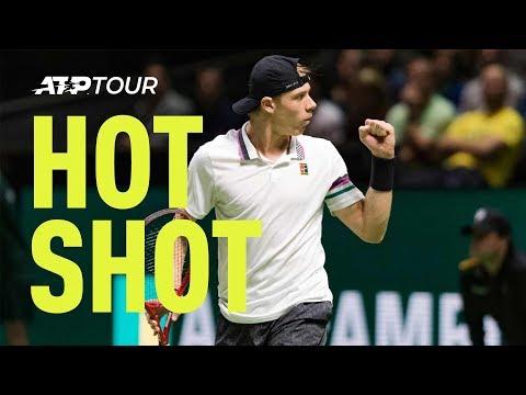 Hot Shot: Spinning, No-Look Winner From Shapovalov In Rotterdam
