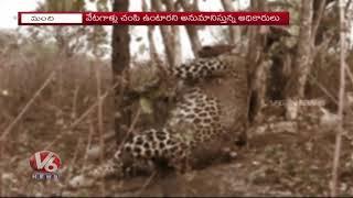 Kawal Forest Officers Said Panchanama Perpared On Manchiryal Chetah Incident | V6 news