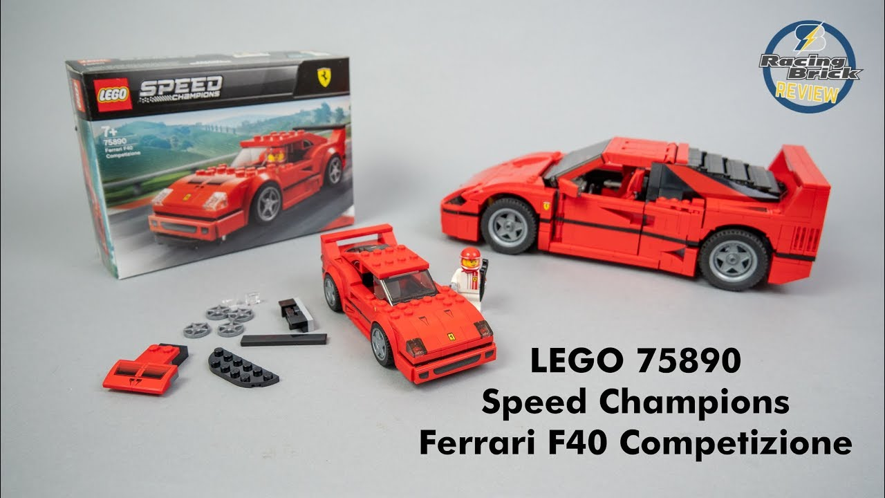Ferrari F40 Competizione 75890 LEGO® Speed Champions