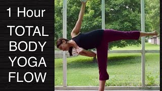 Intermediate Total Body Vinyasa Flow Yoga - 60 Minutes