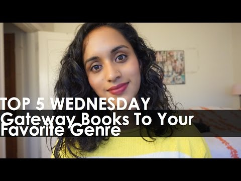 Gateway Books To Your Favorite Genre | TOP 5 WEDNESDAY