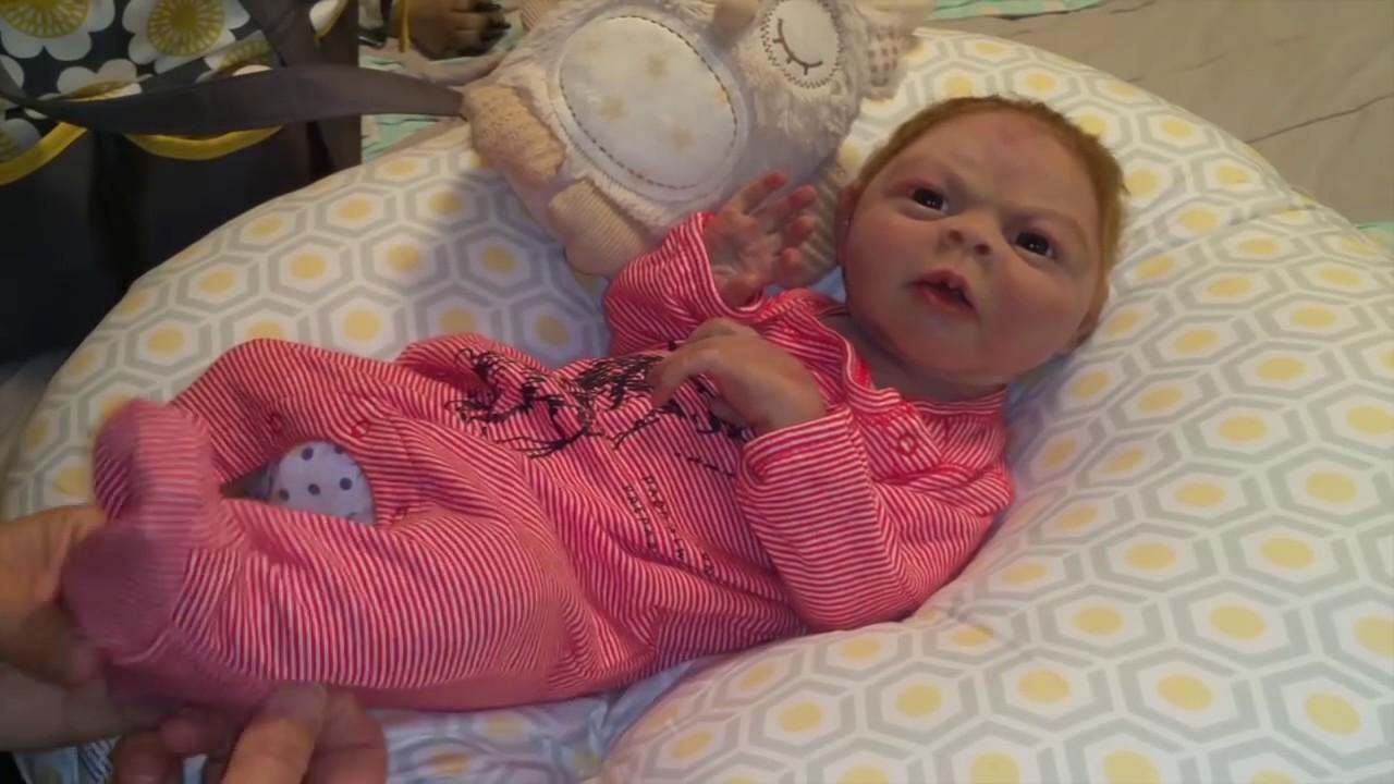 Janika Taylor (Silicone Baby) 1st Night Home Video | Sponge Bath ...