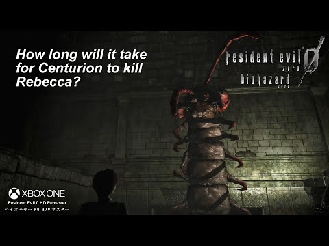 Resident Evil 0 [Q&A] How Long Will Centurion Needs To Kill Rebecca? |