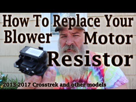 How To Replace Your Blower Motor Resistor (Subaru)