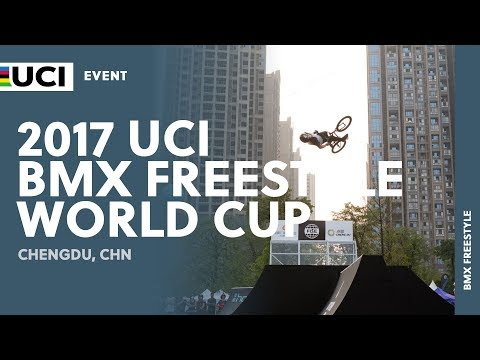 2017 UCI BMX Freestyle World Cup - Chengdu (CHN)