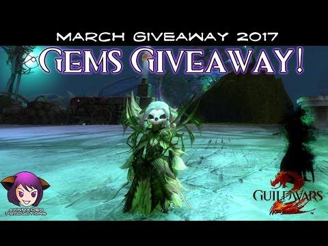 ★ Guild Wars 2 ★ - March Giveaway Winners 2017