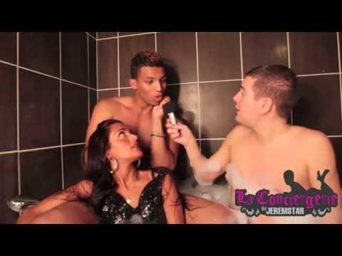 Maeva et Mike (Ile des vérités 4) dans le bain de Jeremstar - INTERVIEW