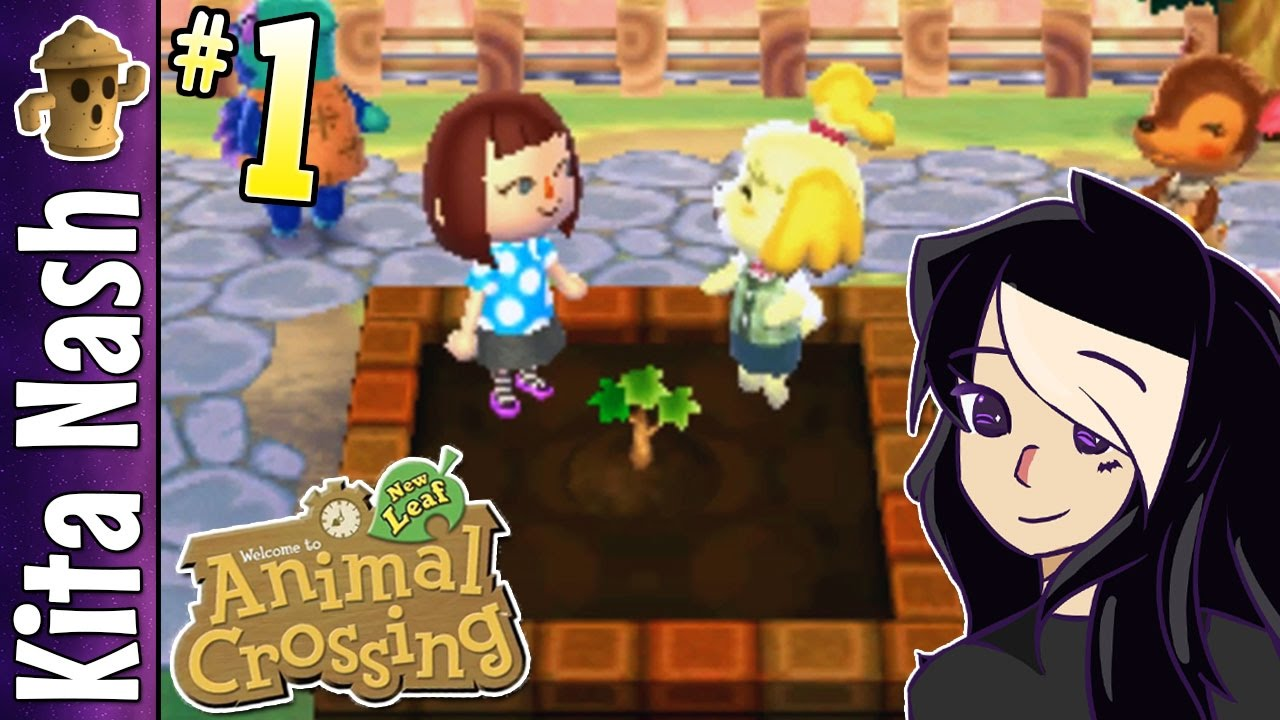 Animal Crossing New Leaf Gameplay PART 1: MAYOR KITA |Let's Play Walkthrough