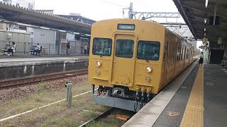 115系D-31編成 発車
