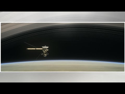 In its final days, Cassini bathed in 'ring rain'