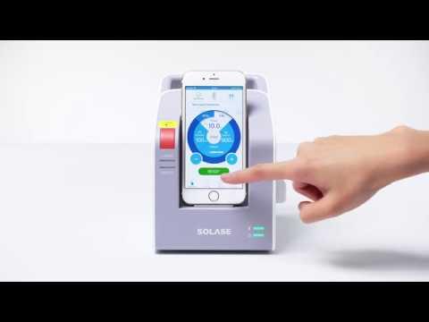 SOLASE dental diode laser - App Introduction