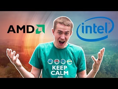 INTEL FINALLY ADMITS AMD IS SUPERIOR!!!! - CES 2018 Remote Coverage