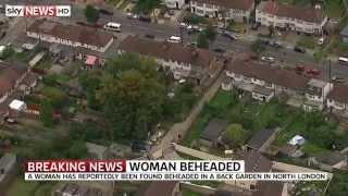 Woman Beheaded In Back Garden Of London Property