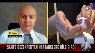 2021-03-18 - TEİS - StarTV - Sahte Dezenfektan Haberi - Ecz Ali Erdem