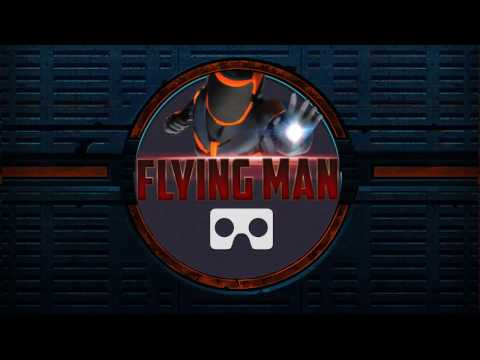 VR Flying Man