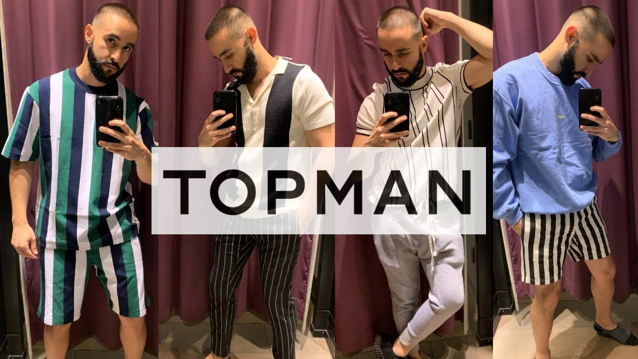 [VIDEO] - TOPMAN MEN'S SHOPPING VLOG and TRY ON Summer 2019 Outfit ideas 2