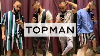 TOPMAN MEN'S SHOPPING VLOG and TRY ON Summer 2019 Outfit ideas