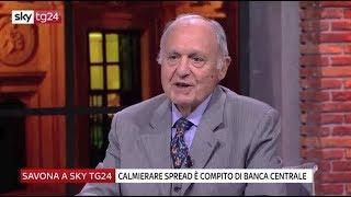 Paolo Savona su guerra commerciale geopolitica e ruolo BCE