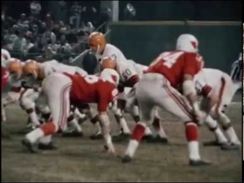 1967 Browns at Cardinals Game 13
