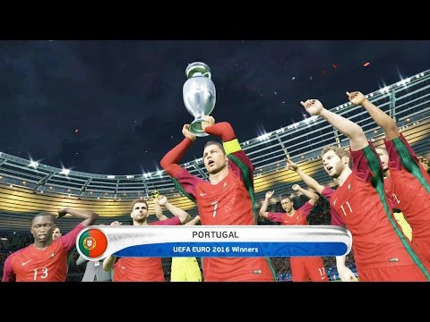 PES 2016 – PORTUGAL vs FRANCE 1-0 – UEFA Euro 2016 FINAL (Simulation)