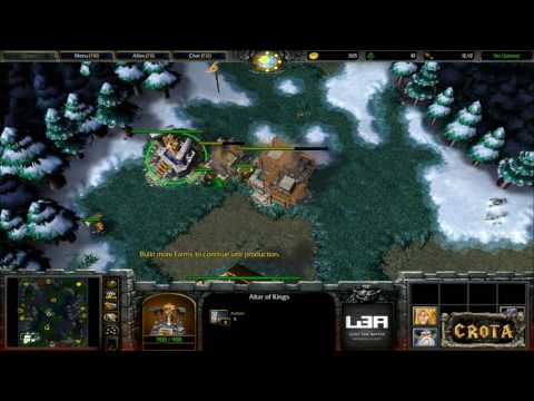CrotaGaming Live - WarCraft 3: Learning to Play again