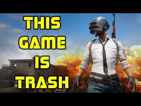 This game is Trash ! PUBG TRASH VERSION !