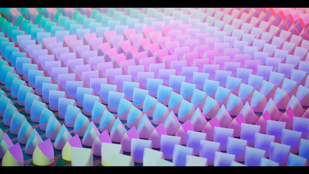 Dennis Parren Creates Lighting Installations In Saint Etienne
