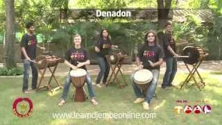 Denadon rhythm sounds like this!