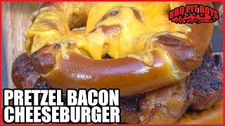 Pretzel Bacon Cheeseburger By The Bbq Pit Boys