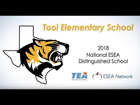 Ceremony honoring Tool Elementary School as 2018 National ESEA Distinguished School