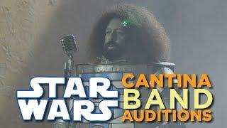 Repeat youtube video Reggie Watts - Star Wars Cantina Band Bonus Footage