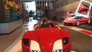 Ferrari World Abu Dhabi | Adam and Family in Yas Island| fun Time | Khalil's Car Wash