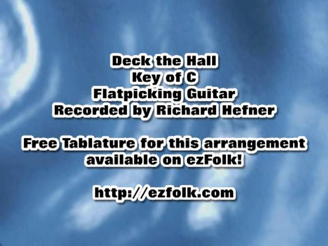 Harmonica harmonica tabs deck the halls : Deck the Hall – Guitar Tab