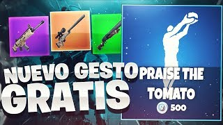 "GET THE NEW ""LIVE THE TOMATO"" GESTE COMPLETELY FREE FOR FORTNITE (SORTEO)"