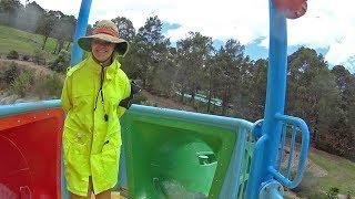 Green Bomboroa Water Slide at Jamberoo Action Park
