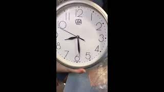 Распаковка и обзор настенных часов UTA 01 S 75