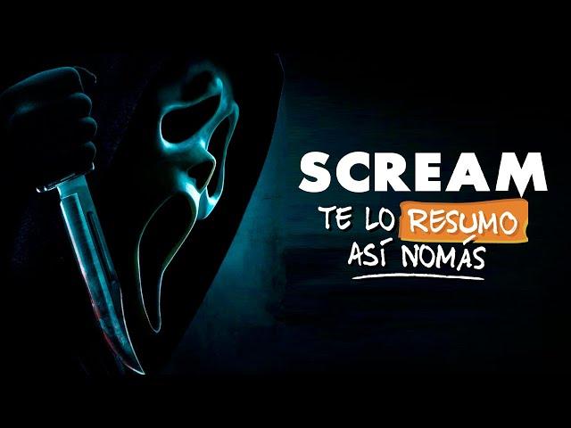 La Saga de Scream | #TeLoResumoAsíNomás 266