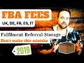 Amazon FBA Fees UK – Fulfillment, Referral & Storage – EFN & Pan European FBA - Amazon FBA Fees 2019