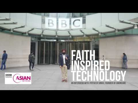 BBC Asian Network interviews Jyotveer Singh, AnonCare Founder