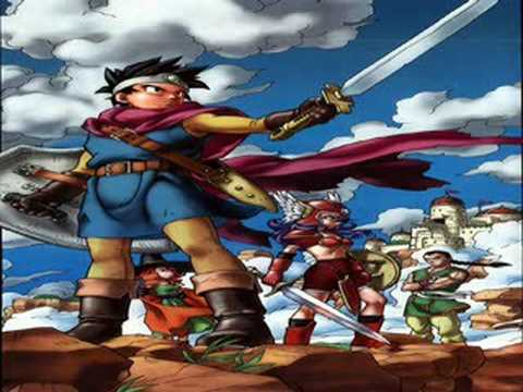 TOP 50 RPG World Map Themes 20 Dragon Quest III YouTube