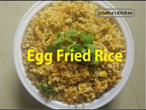How to make egg fried rice recipe in telugu street food youtube how to make egg fried rice recipe in telugu street food ccuart Image collections