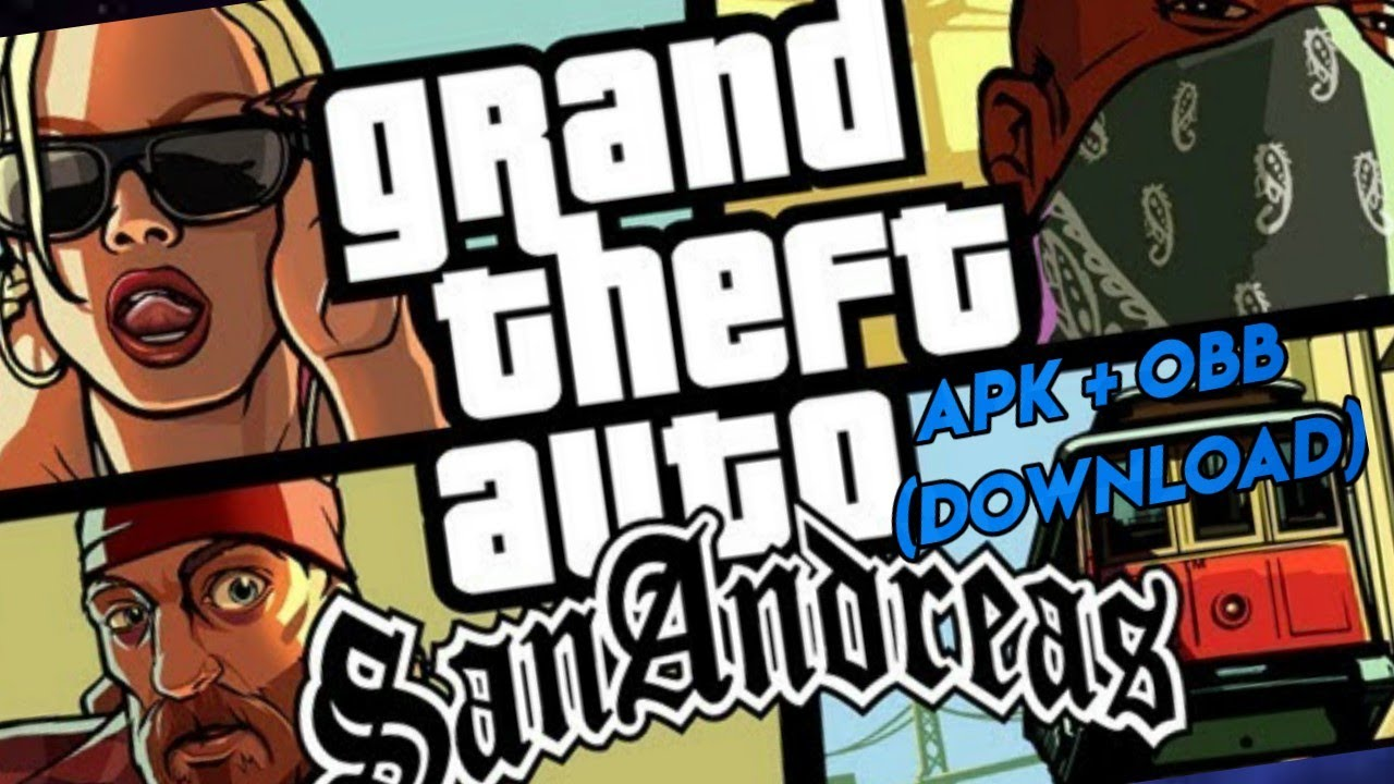 GTA SAN ANDREAS APK + OBB DOWNLOAD (ANDROID) 2019  #Smartphone #Android